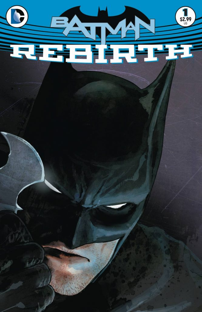 Batman Rebirth 1 Cover