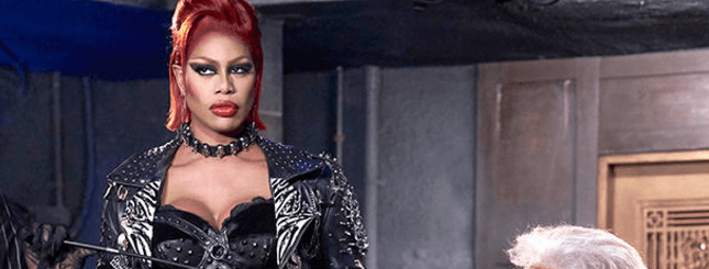 Laverne Cox Frankenfurter The Rocky Horror Picture Show