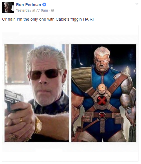 Ron Perlman Cable 1