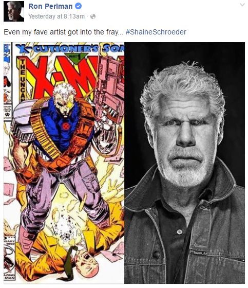 Ron Perlman Cable 2