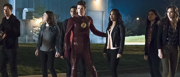 Barry and the gang The Flash