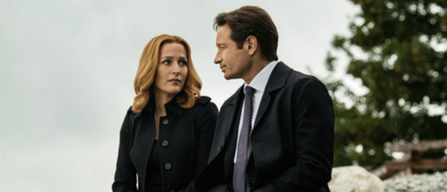 X-Files David Duchovy Gillian Anderson
