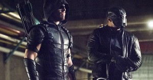 arrow oliver and diggle last line of defense