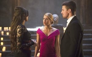 arrow shaman ollie and felicity
