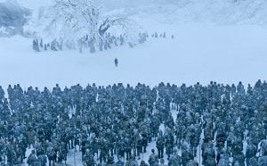 got bran sees the white walker army