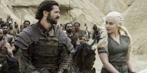 got dany and daario ride with dothraki
