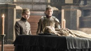 got jaime and tommen at funeral