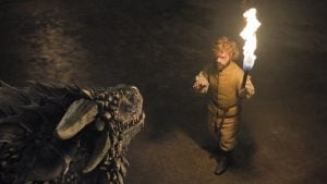 got tyrion meets the dragons