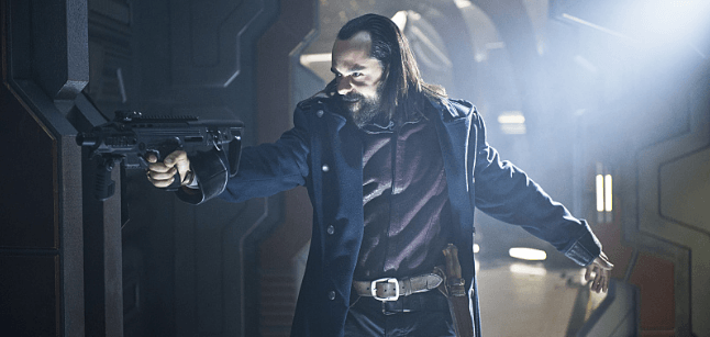 legends of tomorrow vandal savage with a gun