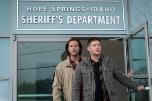 Sam and Dean try to make sense of the miracle in Hope Spring...and the light from the 'God amulet'
