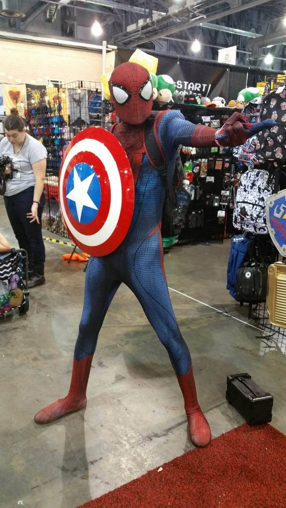 Spider-Man Wizard World Philadelphia 2016