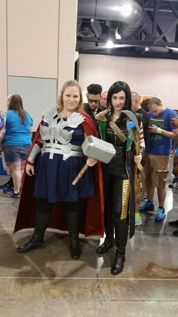 Thor and Loki Wizard World Philadelphia 2016