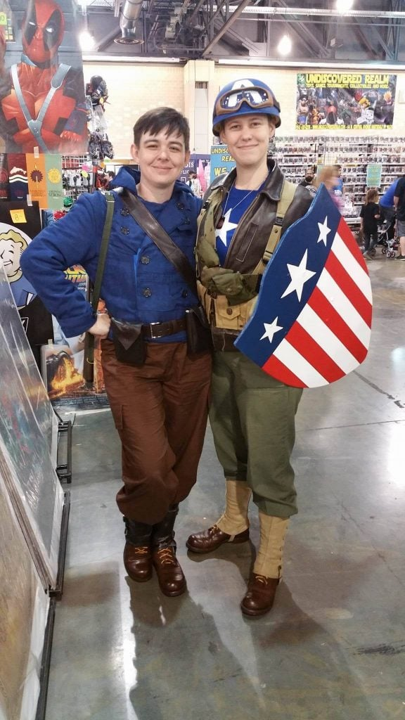 Bucky Barnes Captain America Wizard World Philadelphia 2016