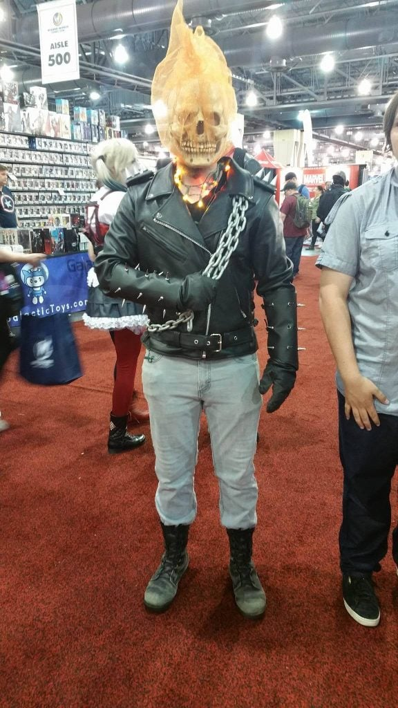 Ghostrider Wizard World Philadelphia 2016