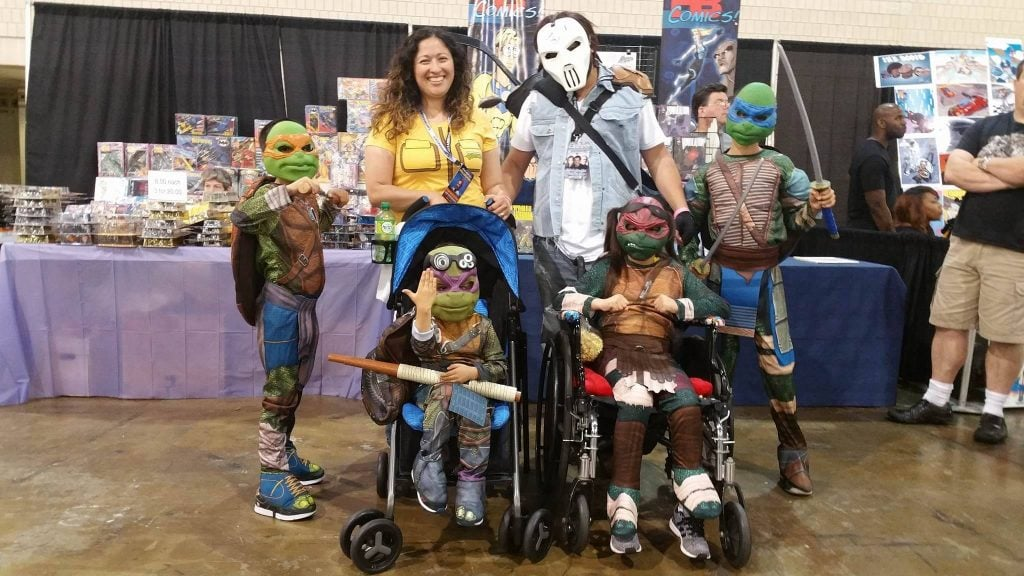 Teenage Mutant Ninja Turtle Wizard World Philadelphia 2016