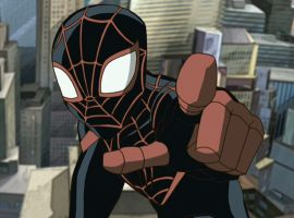 Glover voiced Miles Morales on 'Ultimate Spider-Man'