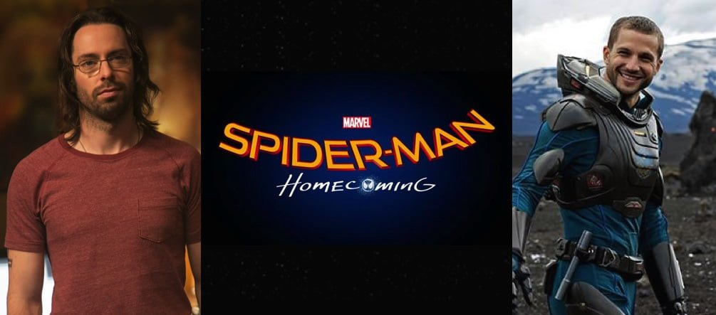 Spider-Man Homecoming Martin Starr Logan Marshall Green banner