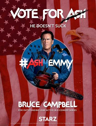 Vote for Ash Bruce Campbell
