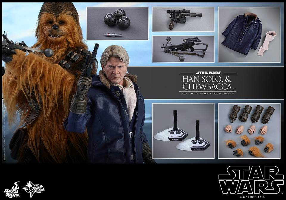 hot toys han and chewie 2