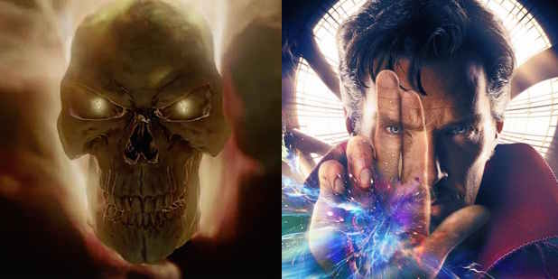 Agents of SHIELD Ghost Rider Doctor Strange