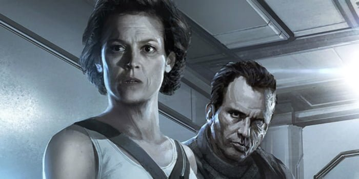 Blomkamp-Alien-artwork-Ripley-Hicks Sigourney Weaver