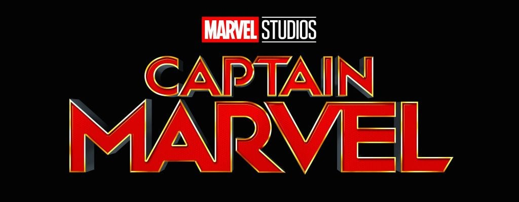 Captain Marvel movie banner
