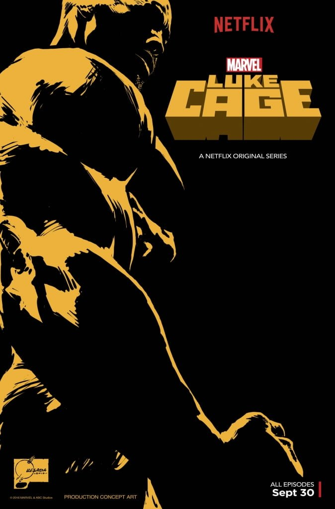 Luke Cage Joe Quesada concept art