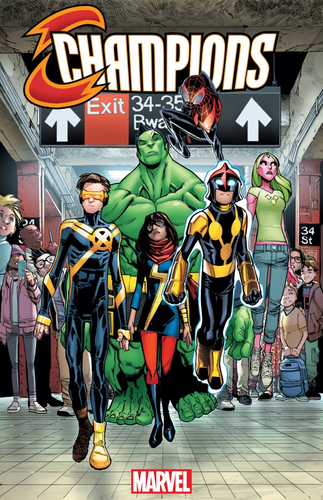 Marvel Champions #1 cover