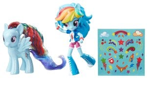 My-Little-Pony-Elements-of-Friendship-Rainbow-Dash-Pony-and-Doll-Set-OOP