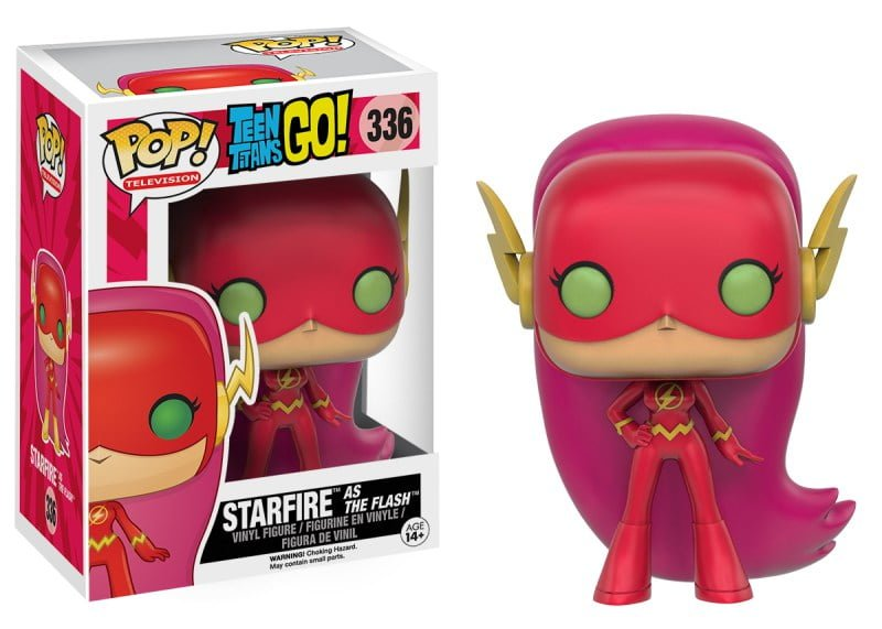 POP-TV-Teen-Titans-Go-Starfire-As-The-Flash-In-Package-and-OOP