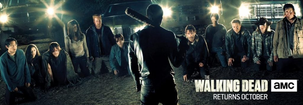 The Walking Dead season 7 banner