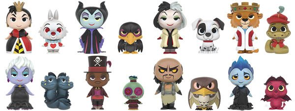 funko minis disney villains