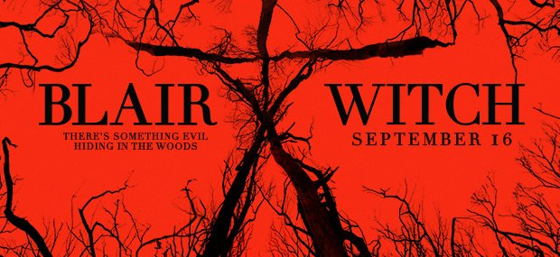 Blair Witch red banner