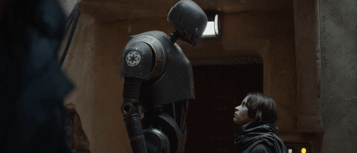 Rogue One K2SO Jyn Erso banner