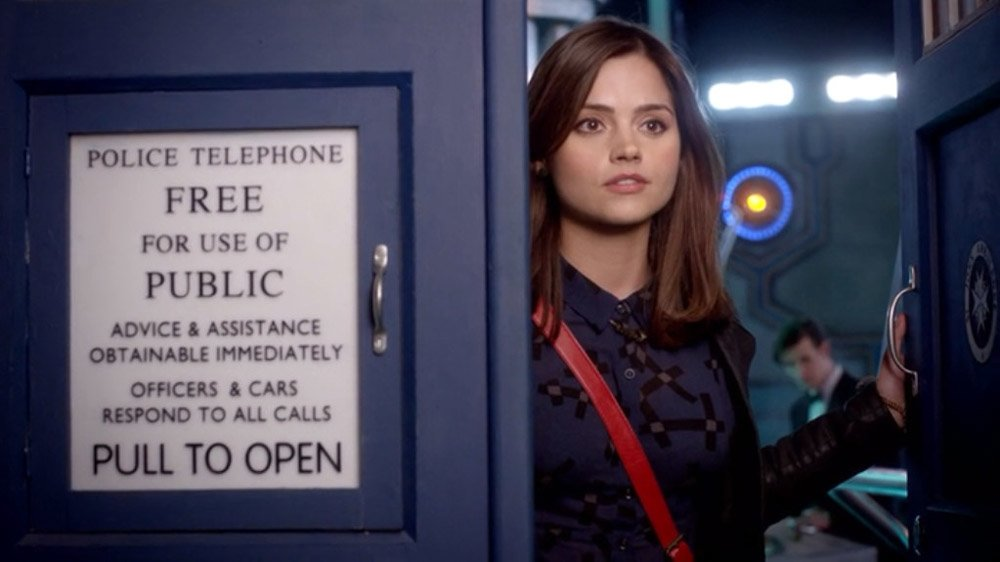 Jenna Coleman Clara Oswald Doctor Who