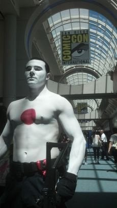 Jesse Fresco in Bloodshot cosplay, from his Twitter.