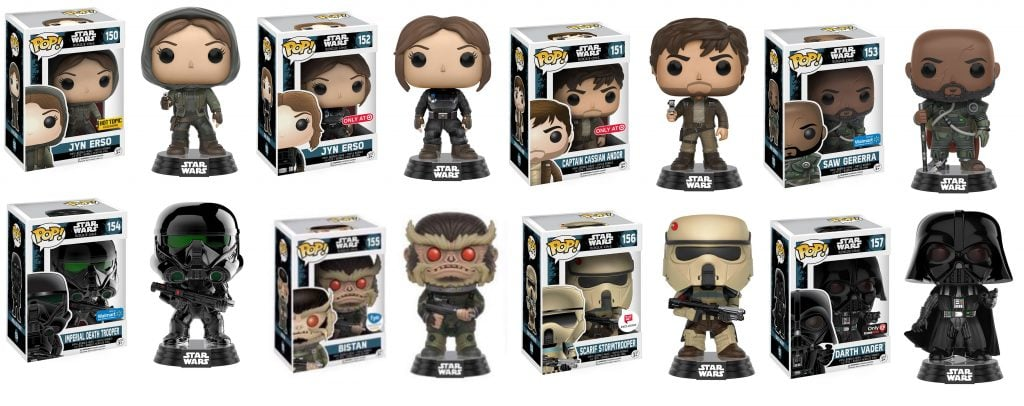 funko rogue one exclusives