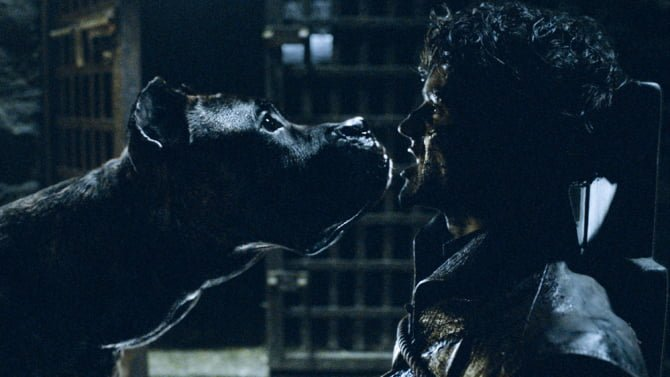 ramsay-and-his-dogs game of thrones