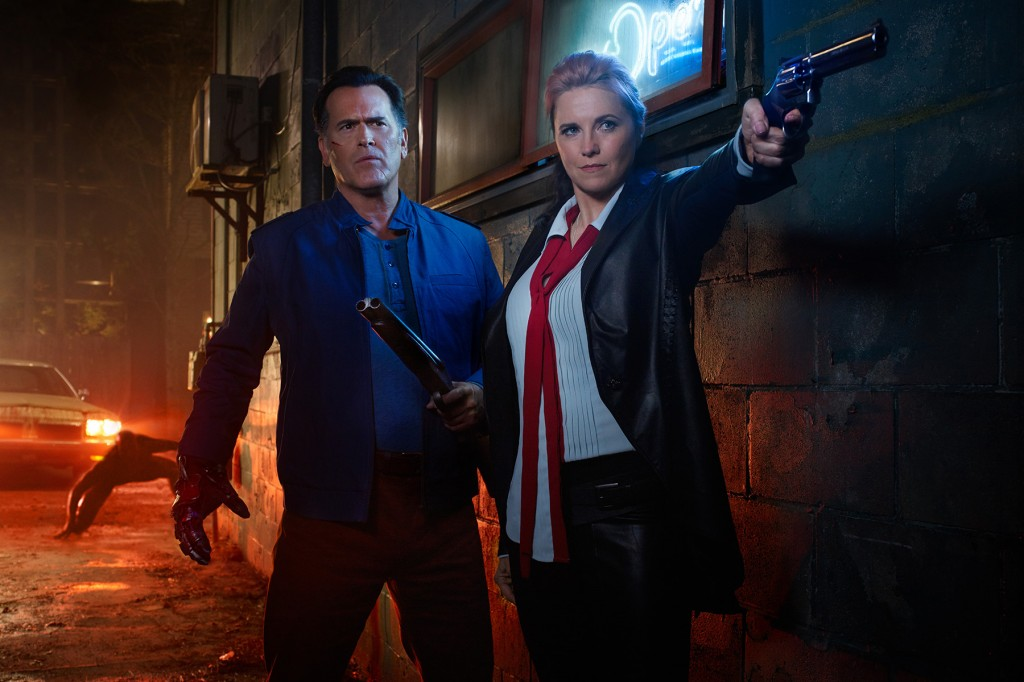 Ash vs. Evil Dead Key Art Shoot2016