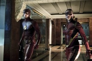 Two speedsters are better than one.