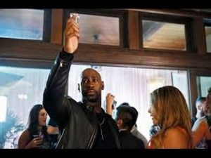 Amenadiel takes Lucifer's advice and lets loose.
