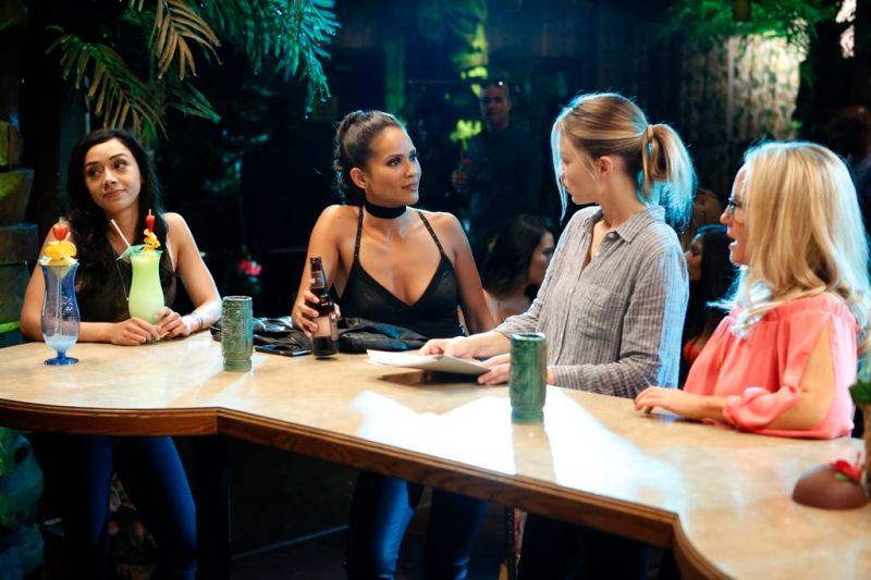 The ladies show they don't need Lucifer to have a good time (or start a bar fight).