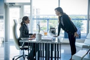Caitlin turns to her estranged mother, Carla Tannhauser, to work on her Killer Frost problem.