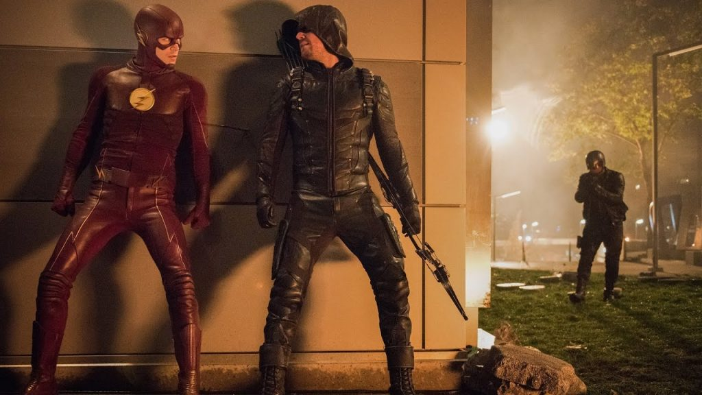 Oliver's not afraid to acknowledge just how often *bleep* hits the fan when Barry comes calling.
