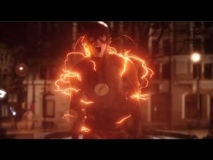Future Barry isn't fast enough to save Iris from Savitar...