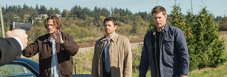 The Secret Service get the drop on Cas and the Winchesters...and then there's a Ketch.