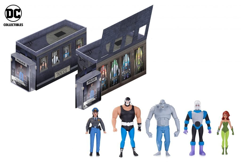 Batman-Animated-Series-GCPD-Rogues-Gallery-Set
