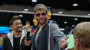CON MAN liam mcintyre at the convention