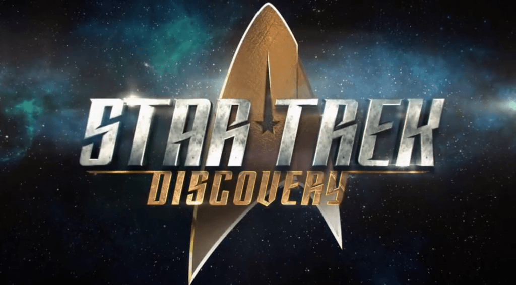 Star Trek Discovery New Logo