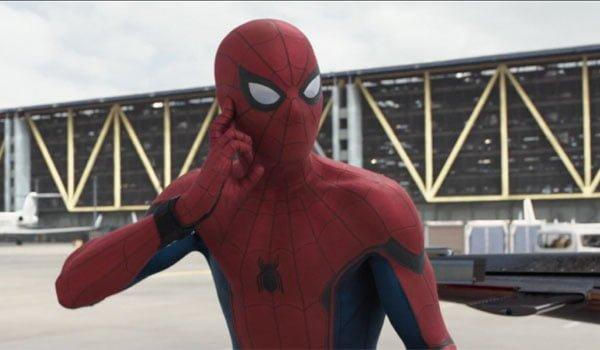 spiderman in homecoming